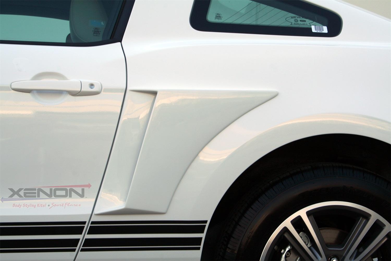 Xenon Quarter Panel Vent