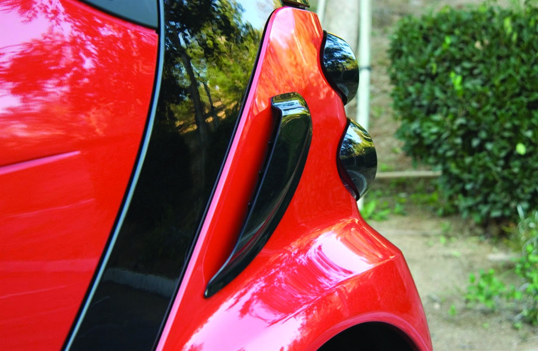 GT Styling Quarter Panel Scoop