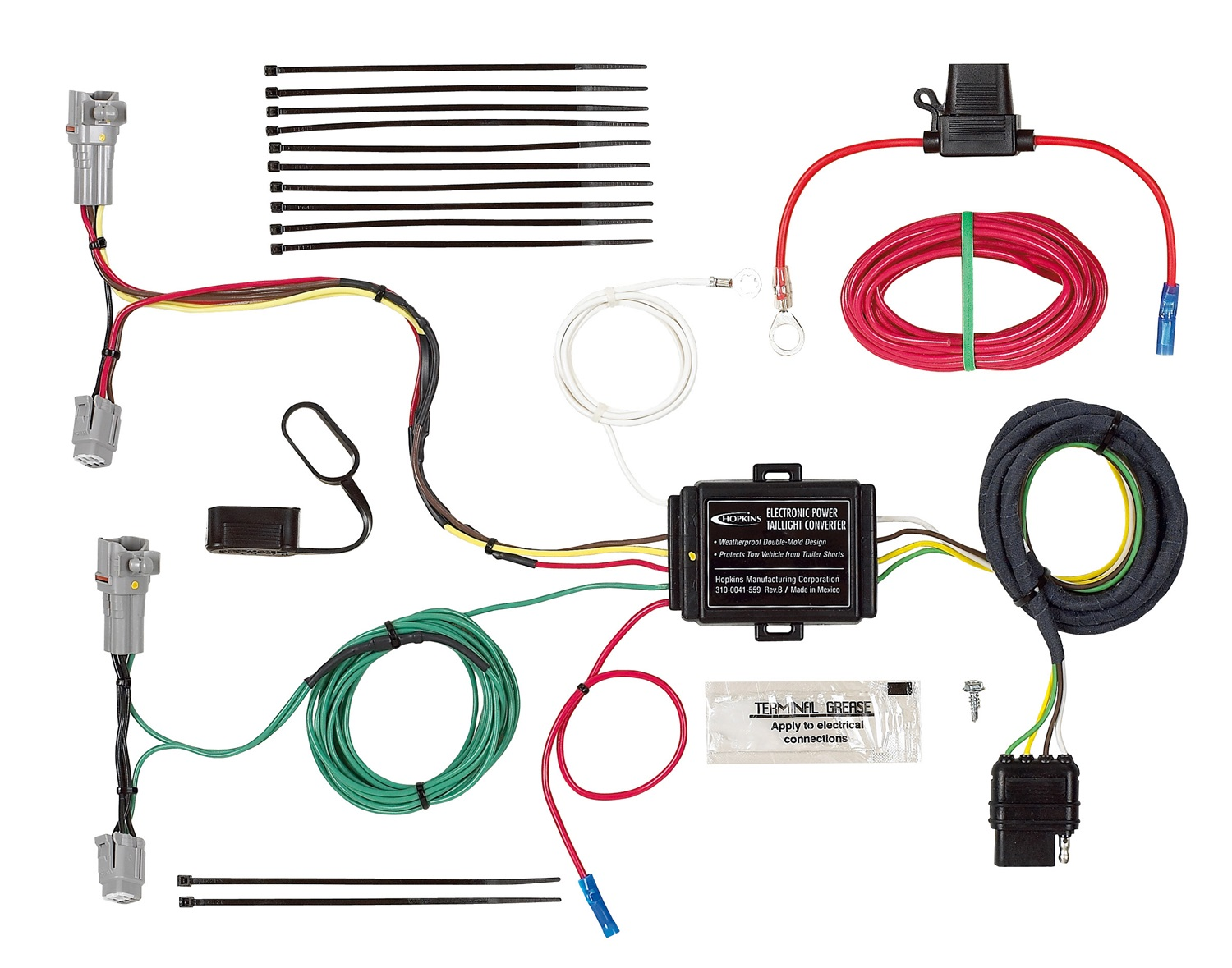 Hopkins Towing Solution Trailer Wiring Harness