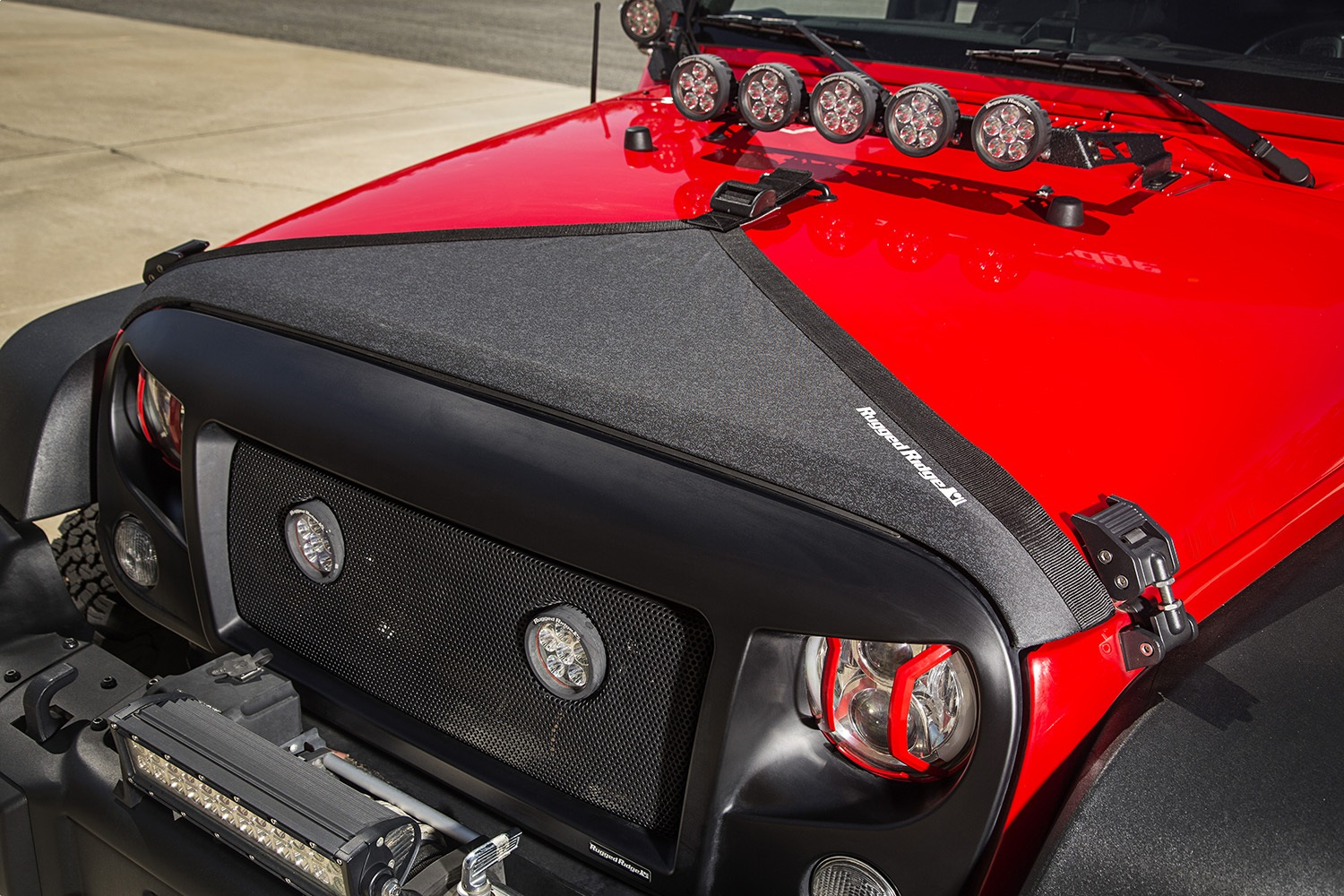 Rugged Ridge Hood Deflector