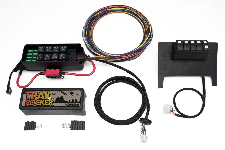 Painless Wiring Multi Purpose Switch Panel Kit