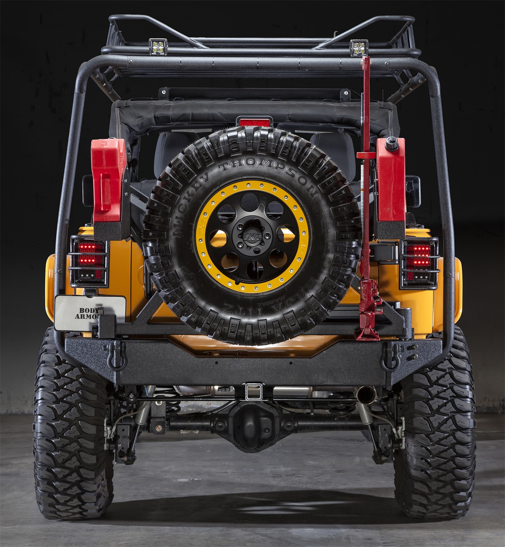 Body Armor Spare Tire Carrier