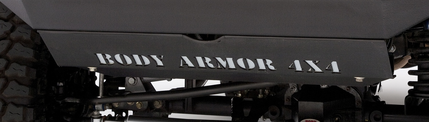 Body Armor Skid Plate