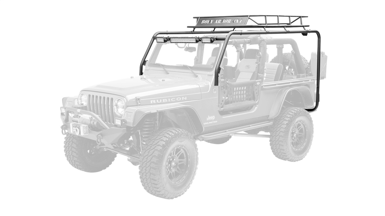 Body Armor Roof Rack